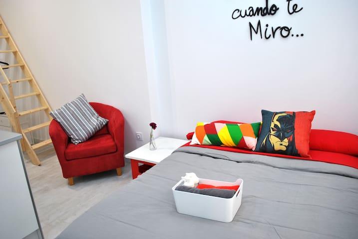 LOFT7 junto a RUZAFA- DISEÑO COOL - València - Loft-asunto