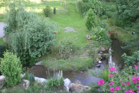 Les chambres du ruisseau. - Chein-Dessus - Wohnung