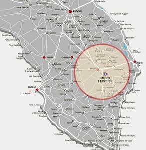 Casa 10km da Otranto Restaurata2016 - Muro Leccese - Huis
