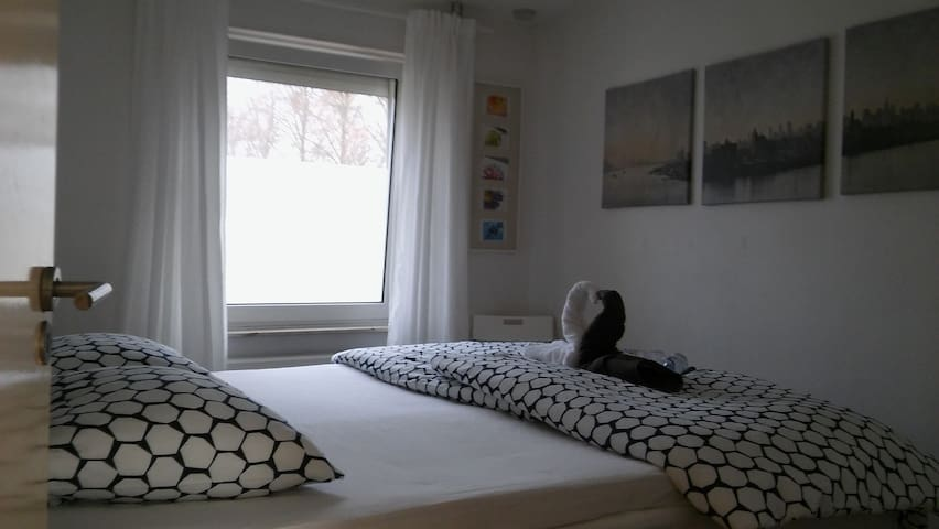 GREAT kingsize boxspring in a cozy bedroom - Maastricht - Casa