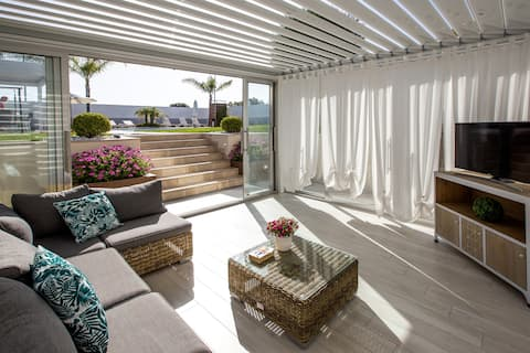 Holiday House Salerno Coast with Pool and Patio