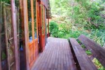 Deck of the Casa Abierta