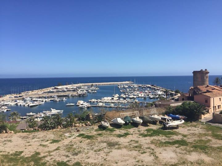 Casa Michela, Apt Sapphire, sea-view