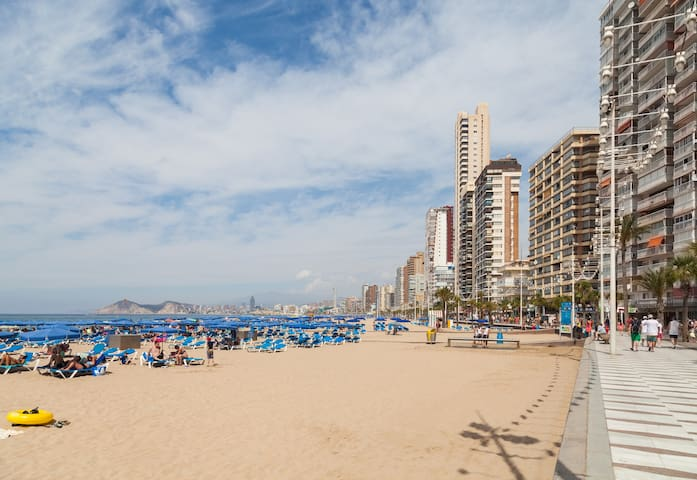 Beautiful apartment 250 meters from the beach