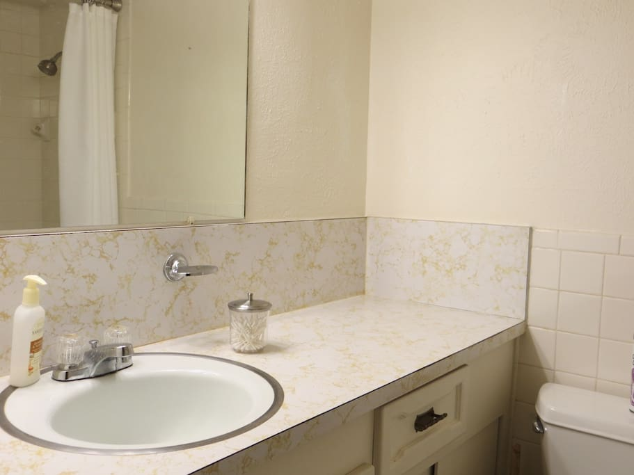 Another picture of the private bathroom