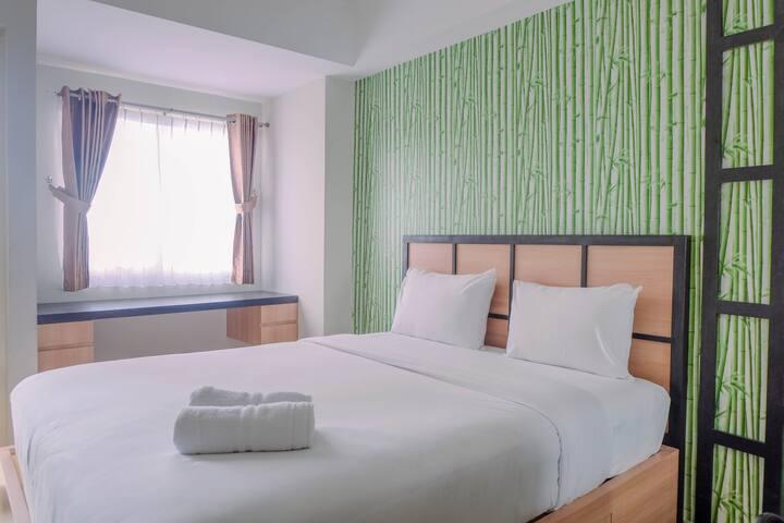 Japanese Style Studio Apartment The Oasis Cikarang