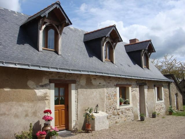 Cottage near Angers city, Loire valley