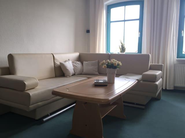Ferienwohnung im Stadtzentrum - Calau - Appartement