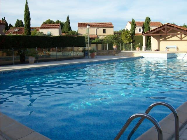 Mazet  confortable avec jardinet - Maussane-les-Alpilles - Casa