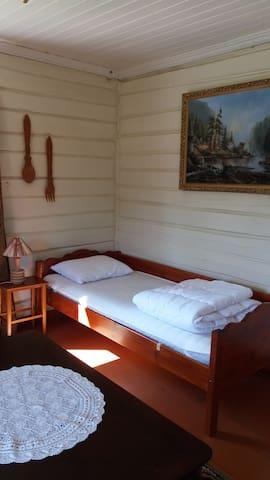 large double bedroom downstairs sleeps two people