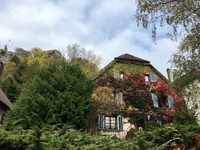 Relax in romantic B&B near Basel