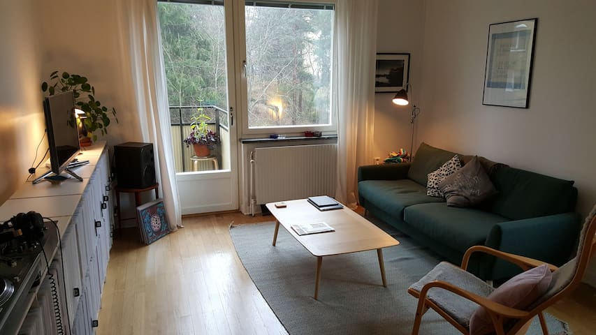 Spacious 2-bed apartment, sleeps 5 - Stockholm - Apartmen