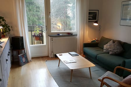 Spacious 2-bed apartment, sleeps 5 - Stockholm - Lejlighed