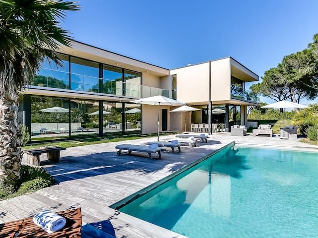 Villa contemporaine proche plages de Saint-Tropez - Ramatuelle - Villa