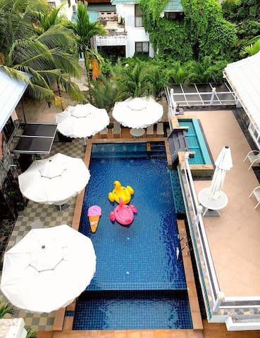 Pool Villa BB Beach House Rayong