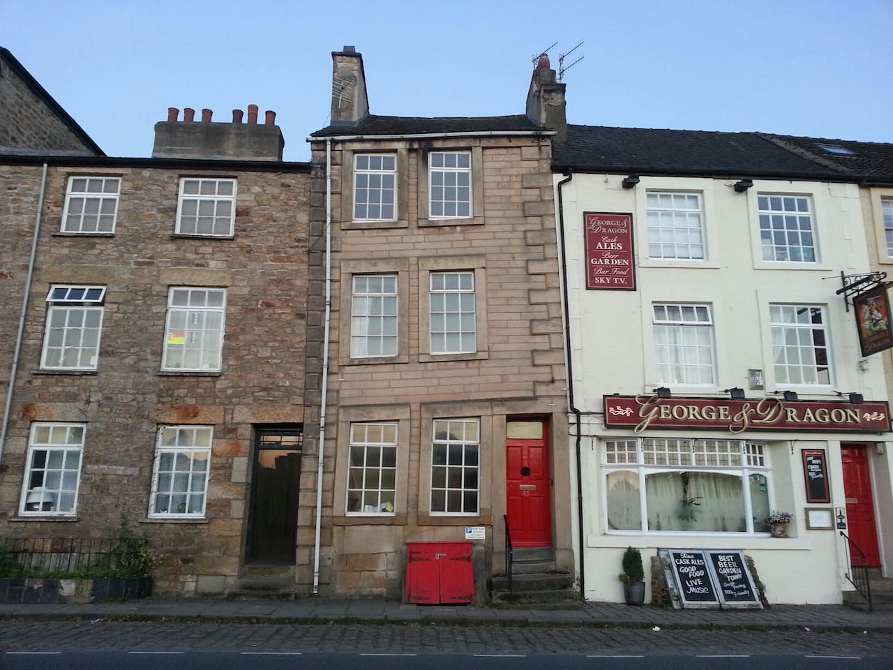 The Little Crooked House