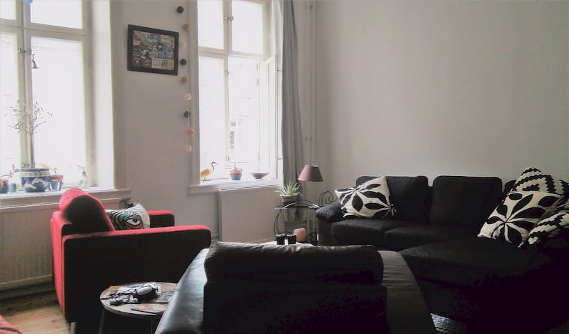 Lovely apartment by a park @ the heart of the city - Malmö - Pis
