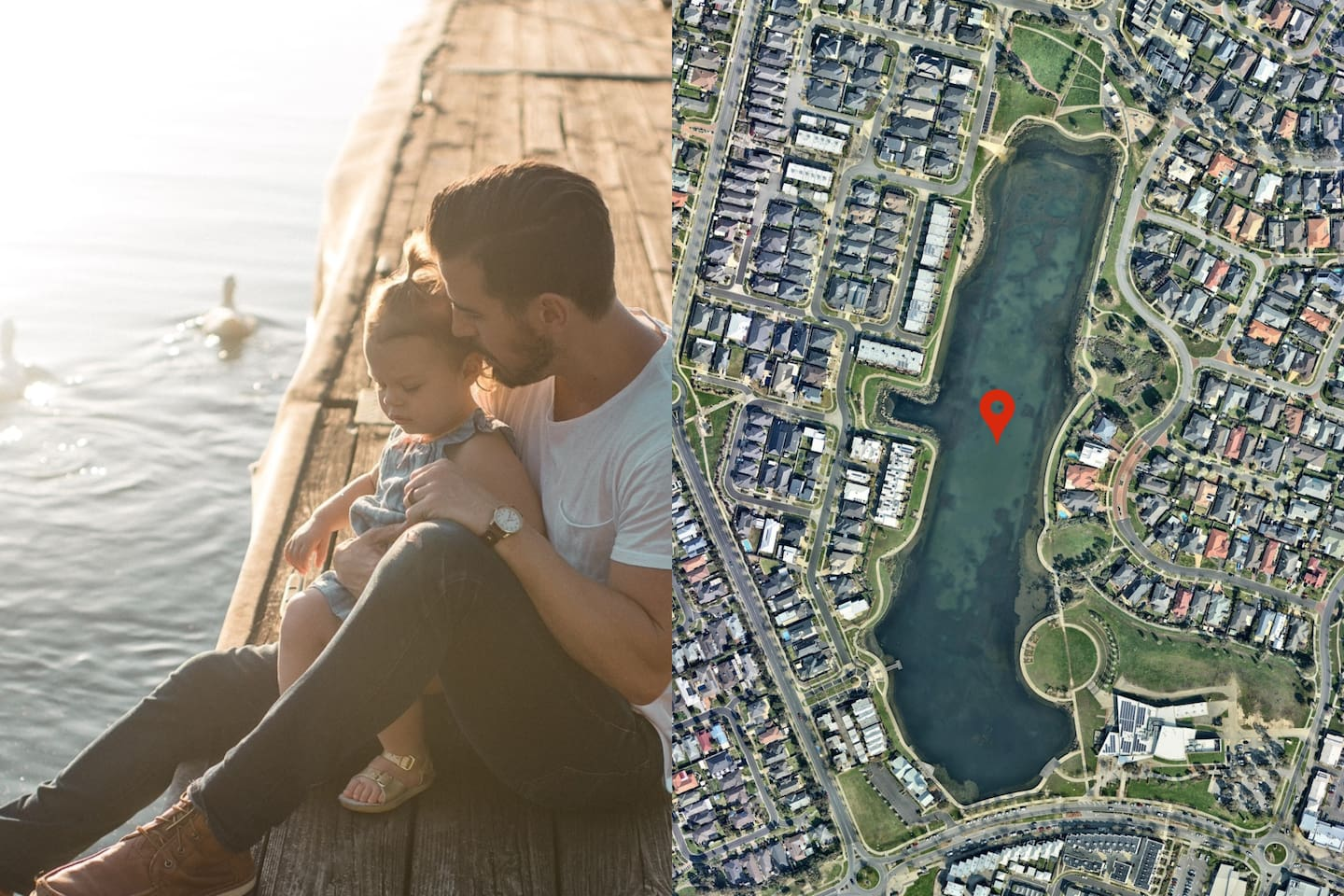 5 minutes by car: Lakeside Recreation Reserve. Great for a afternoon out with your family