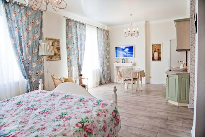 Квартира в центре Provence. - Cheliábinsk - Departamento