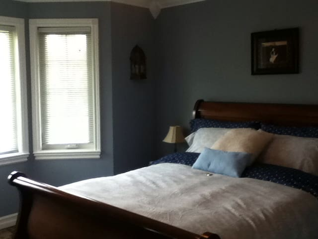 The Boston T Bed and Breakfast- Sassy's Room - Ottawa - Bed & Breakfast