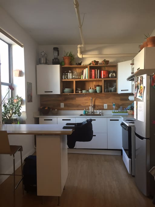 Brand new kitchen and breakfast bar
