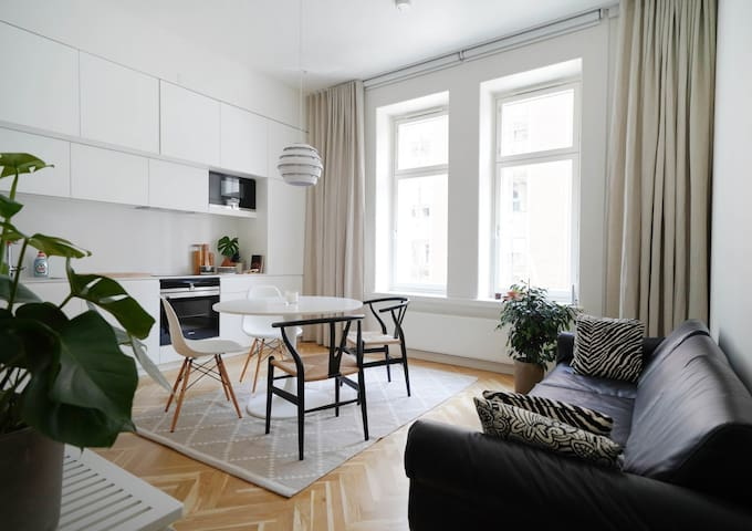 Cozy apartment - 10min walk to train station