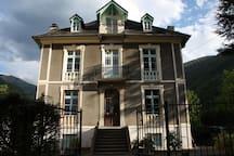 The stunning  Villa Gracieuse