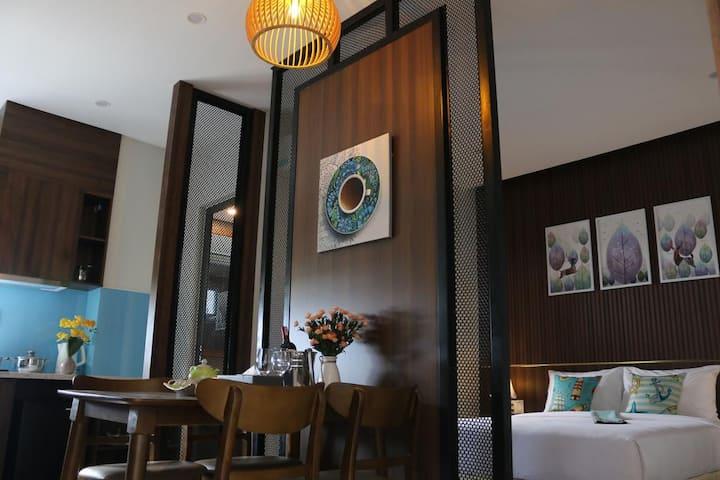 Studio Apartment#doubleroom#danangbayview#cozyroom