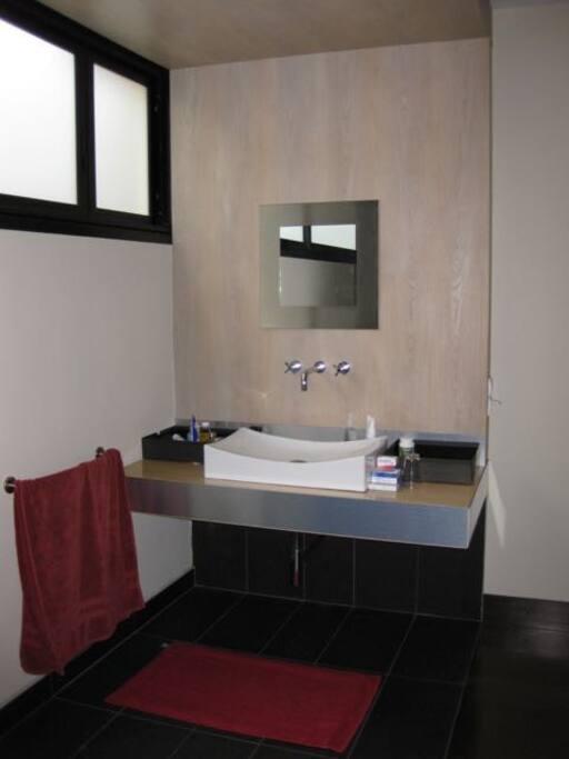 vasque lavabo de la salle de bain.