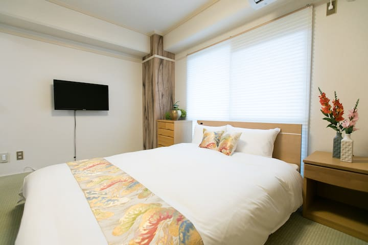 Base Hotel 308 : 5 mins walk from Hiroshima Sta