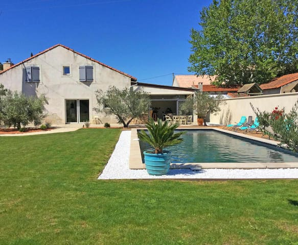 Large family home with private pool in Vignères, 10 sleeps.