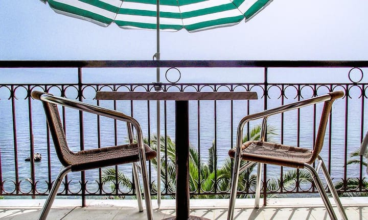 Double Studio with Seaview Terrace -  Adults Only
