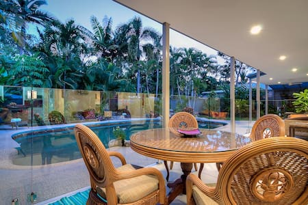 Spacious family home close to beach - Port Douglas - Casa