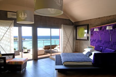 Luxury Suite including a terrace and have an exceptional view of the lagoon - Grand-Cul-de Sac - Wohnung