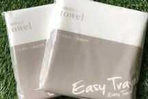 不織布浴巾 Non-woven towel