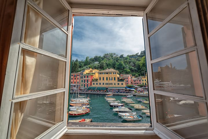 Your Window on Portofino