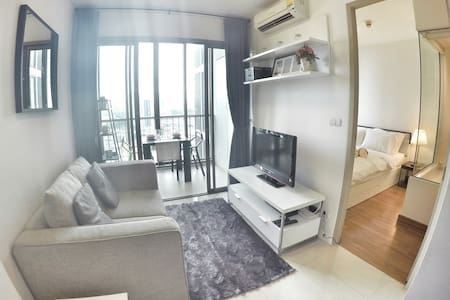 Luxurious 1BR-Close to BTS Skytrain-Rooftop pool - Banguecoque