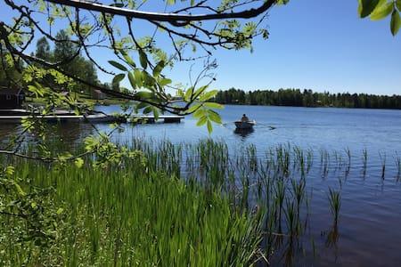 Stuga vid sjö - Ludvika Ö - Ev