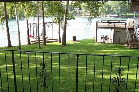 Beautiful Lake House New Braunfels - New Braunfels