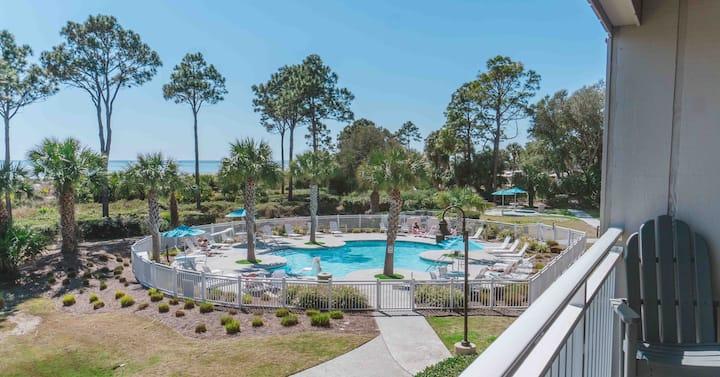 💎Direct Oceanfront Villa - Heated Pool Ocean View