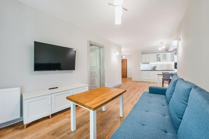 Cypel Helski Apartament Delux B 78 dla 4 osób