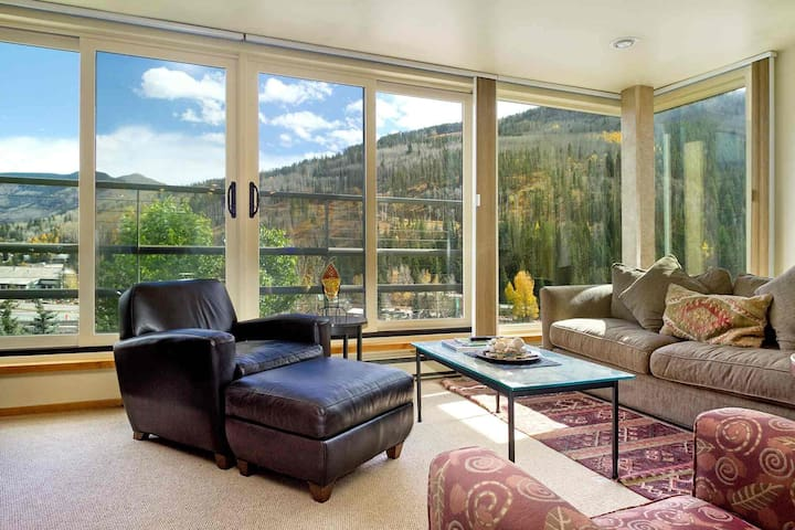 5th Fl Simba Run Condo, Shuttle to Slopes In Winter, Pool & Hot Tub, On Bus Route, No Car Needed! - Vail