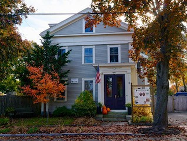 While autumn is most colorful, the coming holiday season is full of cheer and decoration, in Newburyport.