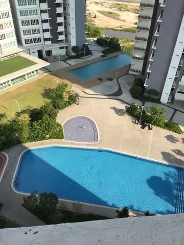 Tropez Resident 2 - Johor Bahru - Appartement