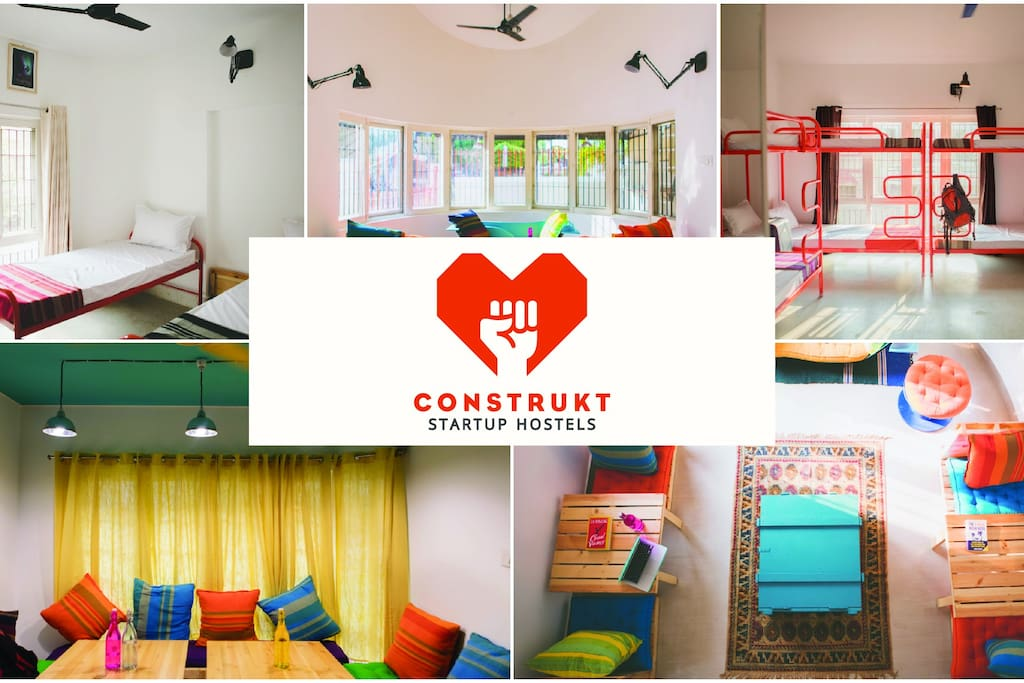 Backpackers Hostel for Travelling Startups and Entrepreneurs