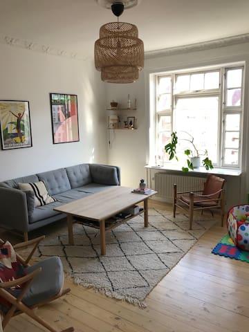 Spacious family friendly apartment in copenhagen
