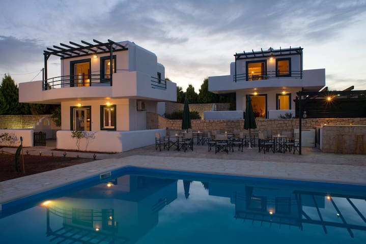 Cavo Plako villas modern studio with shared pool A