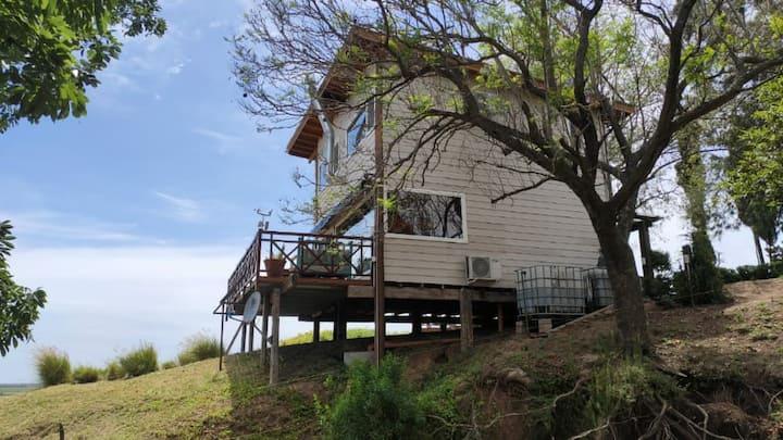 Cabaña Única con vista al gran Paraná