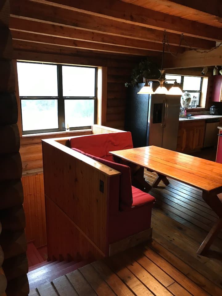 End of the Road Updated Log Cabin w/ Great Views!