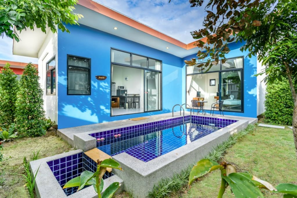 2 Bedroom South Style Pool Villa